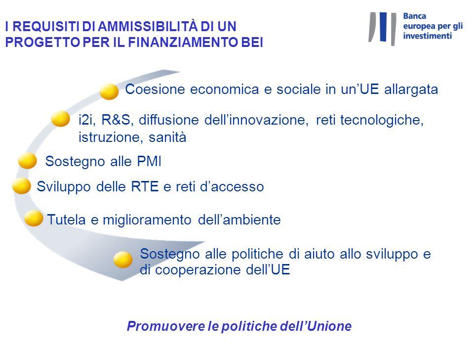 Promuovere le politiche dell'Unione