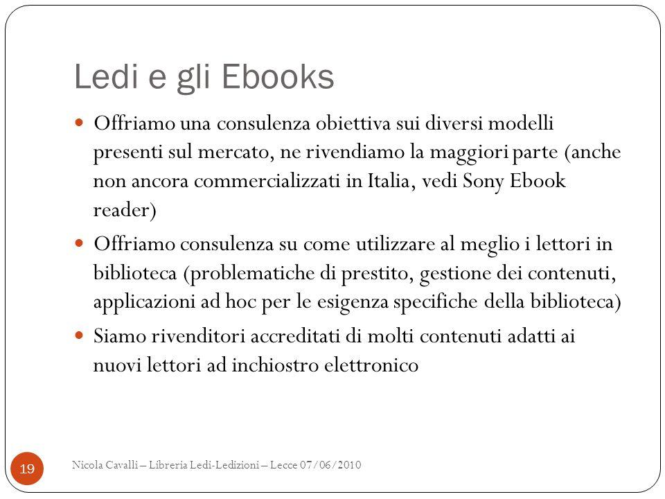 Ledi e gli Ebooks