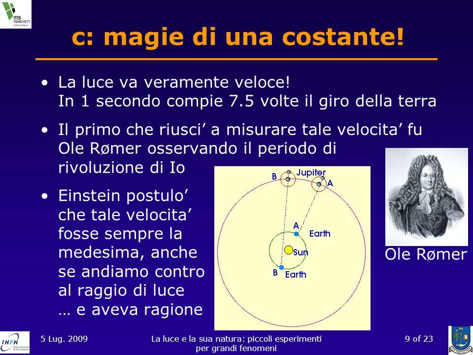 c: magie di una costante!