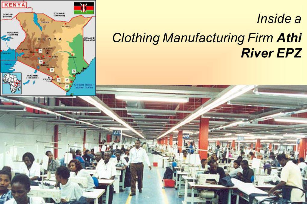 Inside a Clothing Manufacturing Firm Athi River EPZ