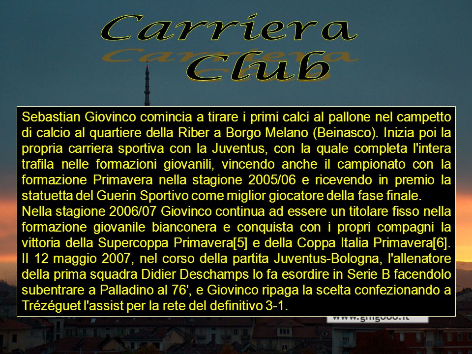 Carriera Club.