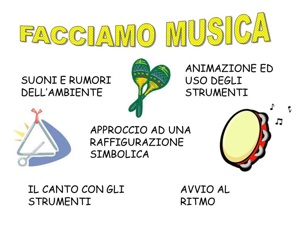 FACCIAMO MUSICA ANIMAZIONE ED USO DEGLI STRUMENTI