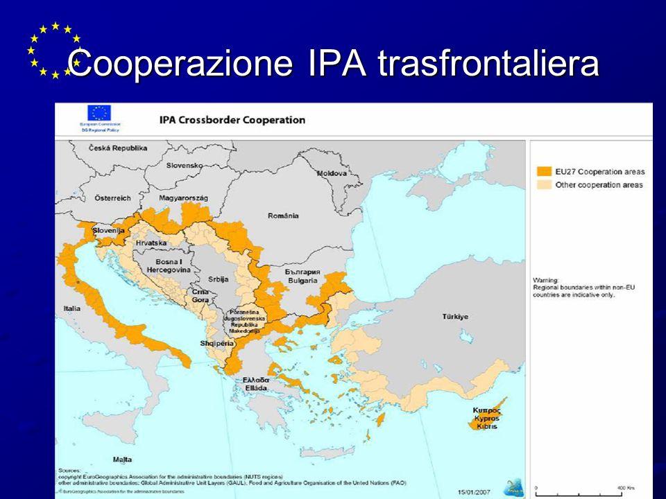 Cooperazione IPA trasfrontaliera