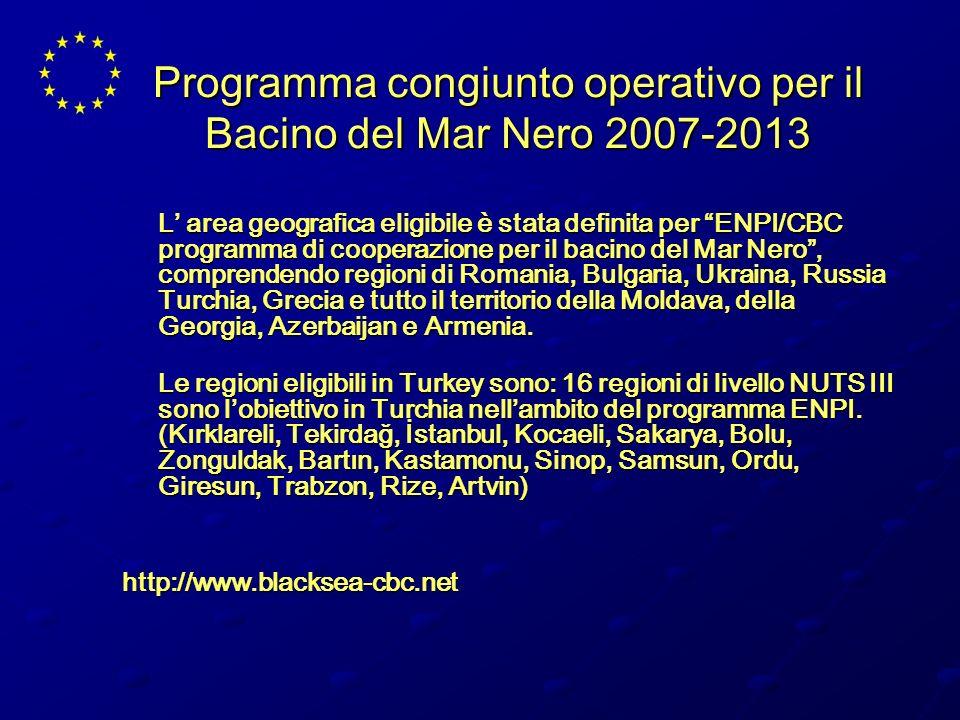 Programma congiunto operativo per il Bacino del Mar Nero 2007-2013