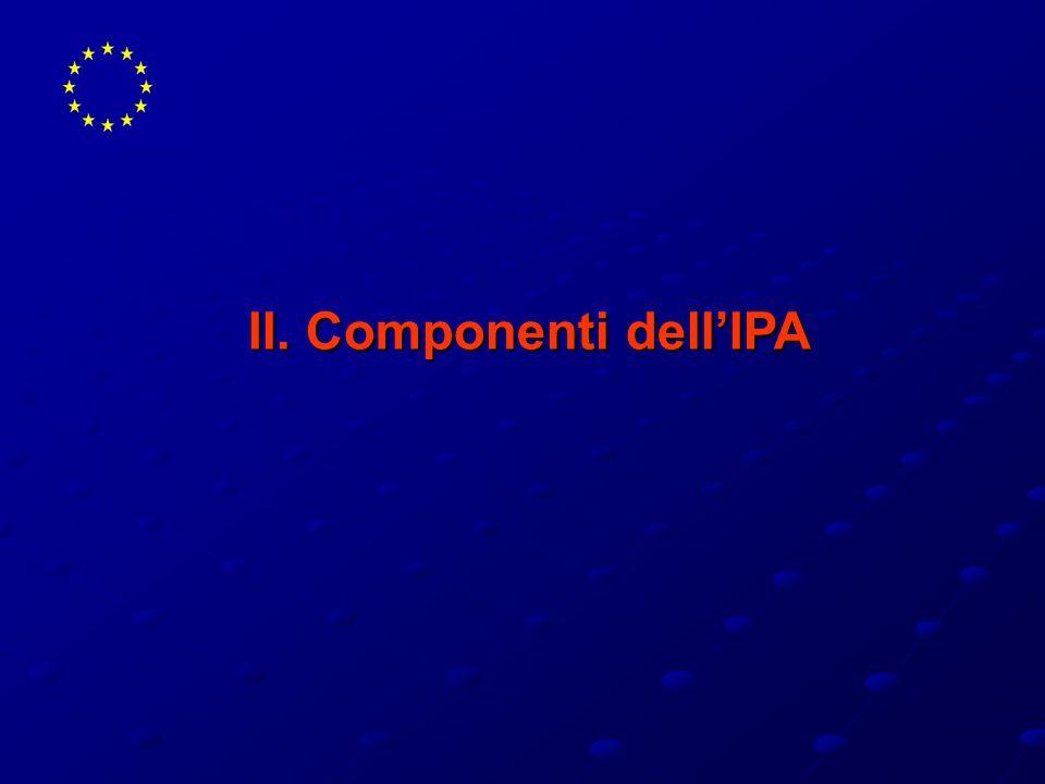II. Componenti dell'IPA