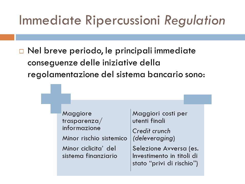 Immediate Ripercussioni Regulation