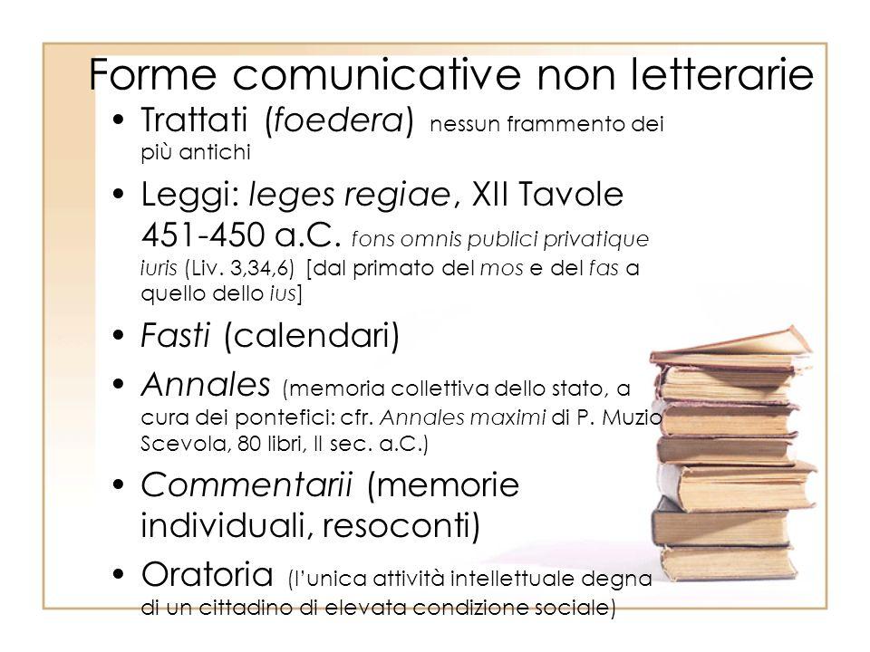 Forme comunicative non letterarie