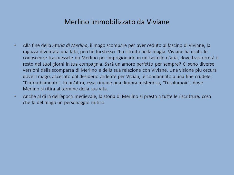 Merlino immobilizzato da Viviane