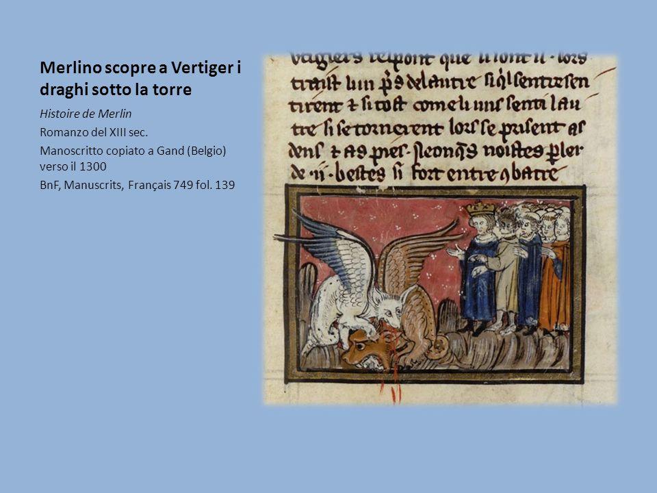 Merlino scopre a Vertiger i draghi sotto la torre