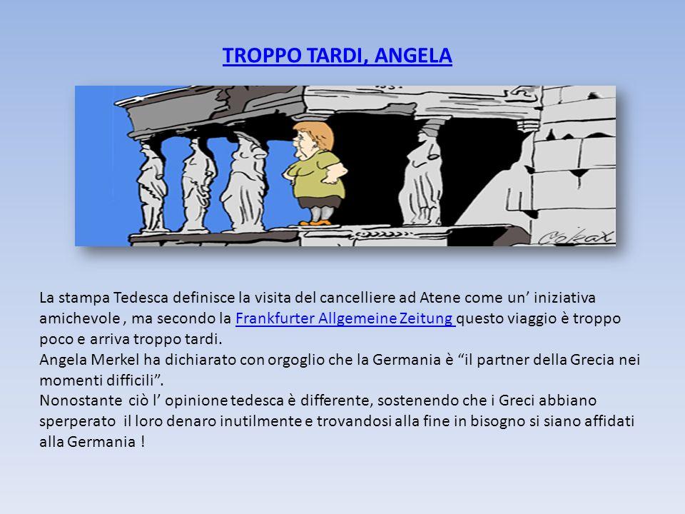TROPPO TARDI, ANGELA