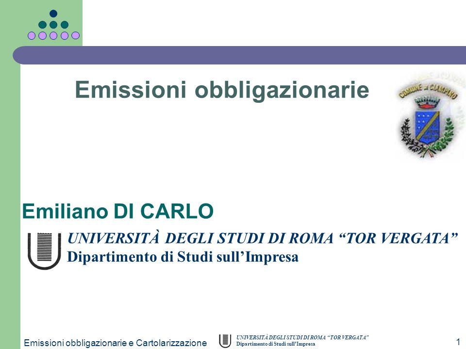 Emissioni obbligazionarie