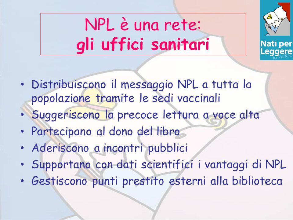 NPL è una rete: gli uffici sanitari