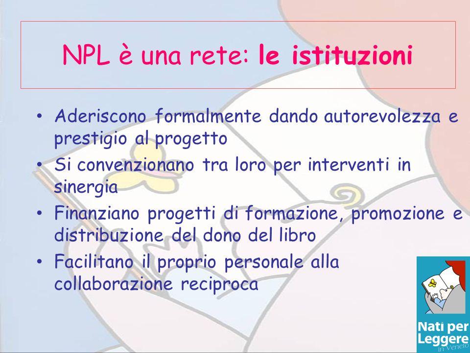 NPL è una rete: le istituzioni