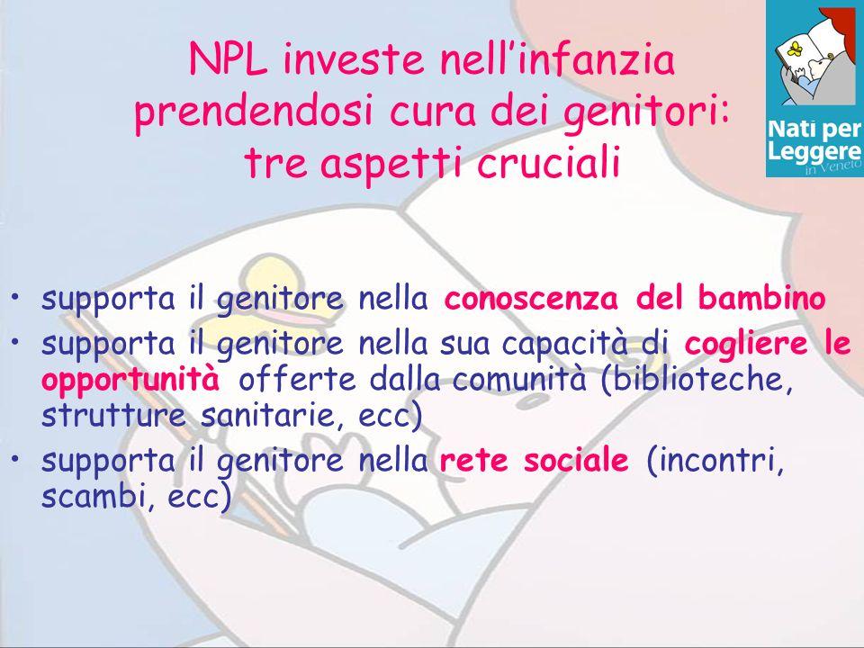 NPL investe nell'infanzia prendendosi cura dei genitori: