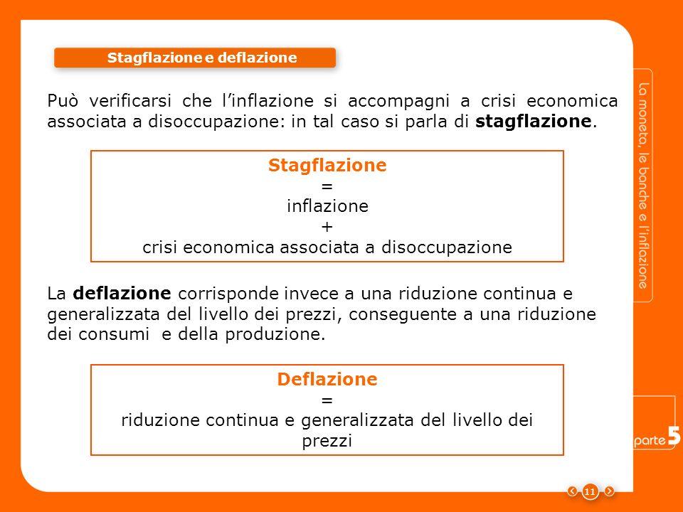 Stagflazione e deflazione