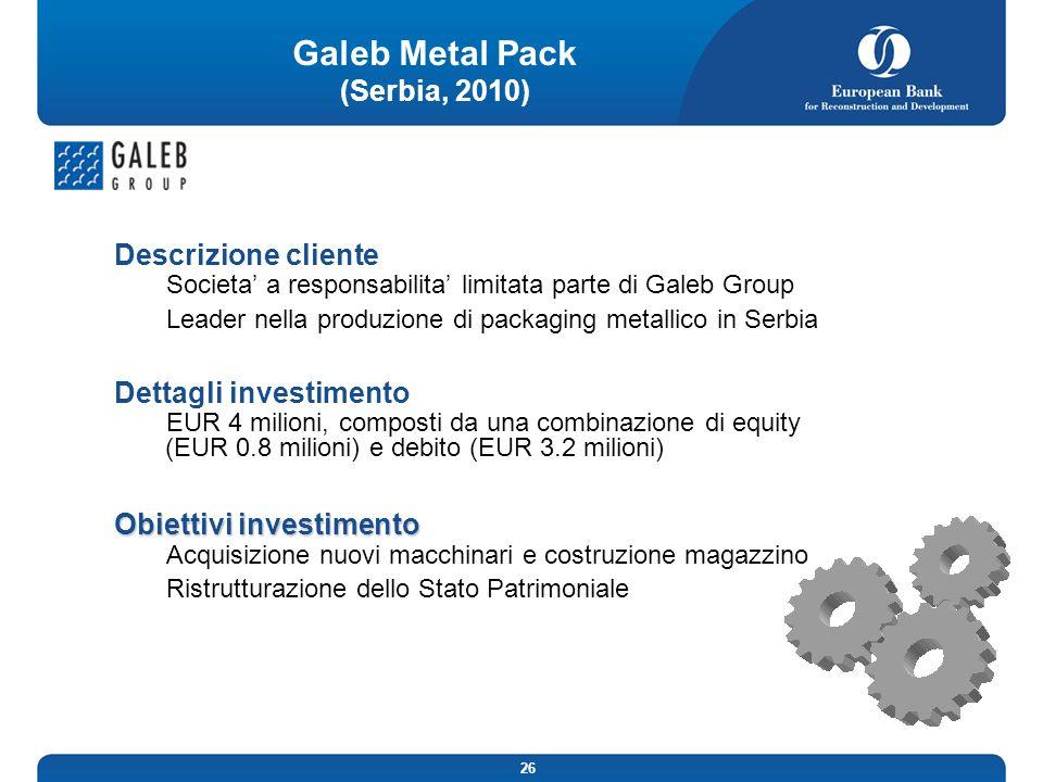 Galeb Metal Pack (Serbia, 2010)