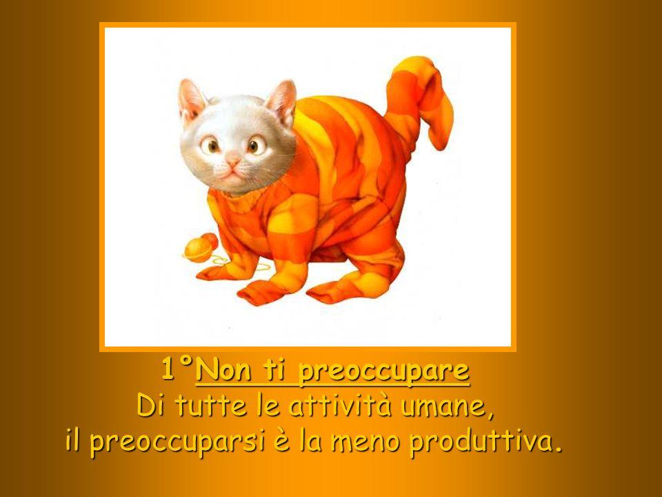 Di tutte le attività umane, il preoccuparsi è la meno produttiva.