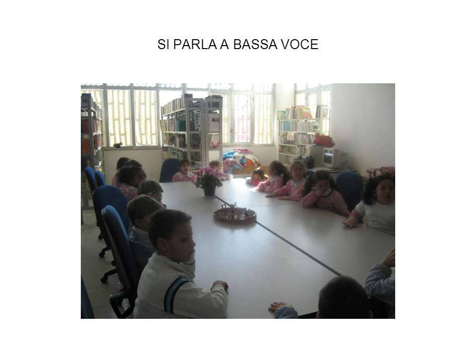 SI PARLA A BASSA VOCE