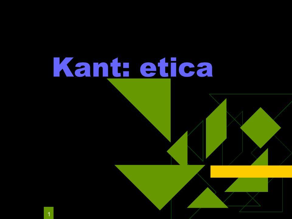 Kant: etica