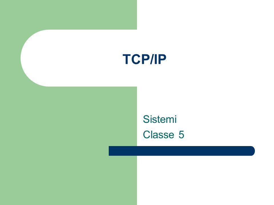 TCP/IP Sistemi Classe 5