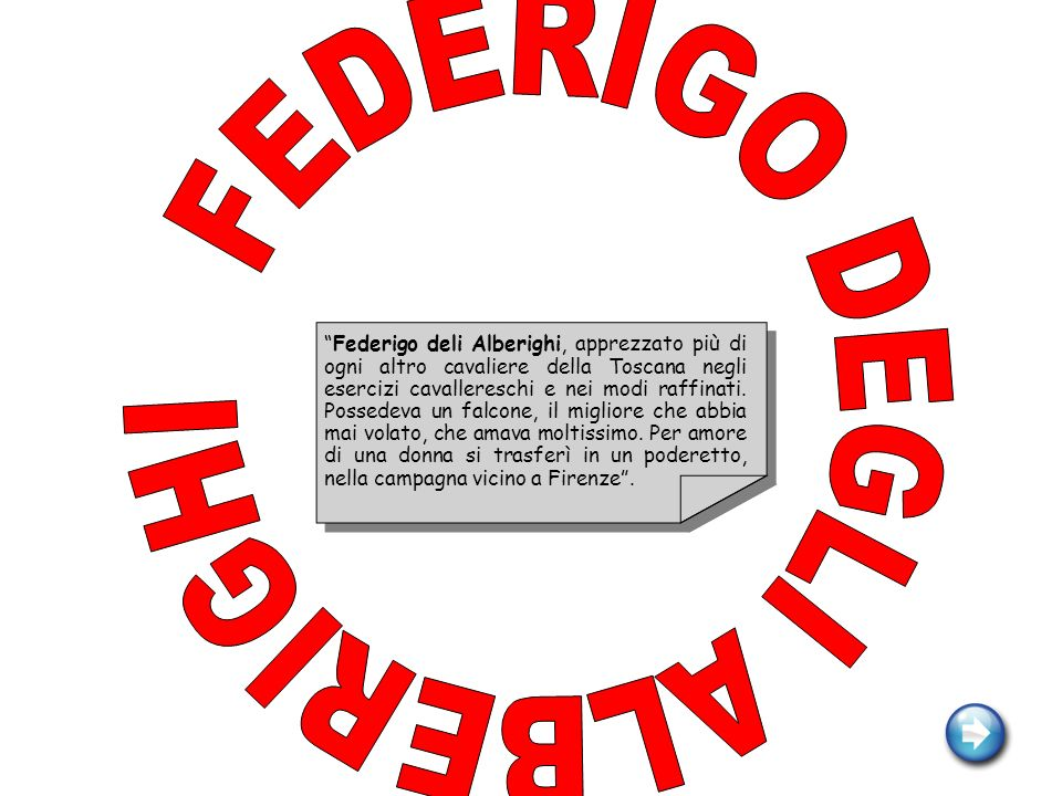 FEDERIGO DEGLI ALBERIGHI