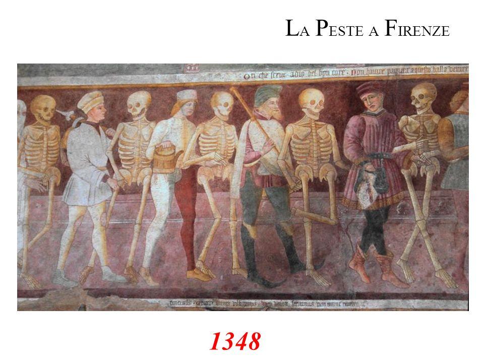 LA PESTE A FIRENZE 1348