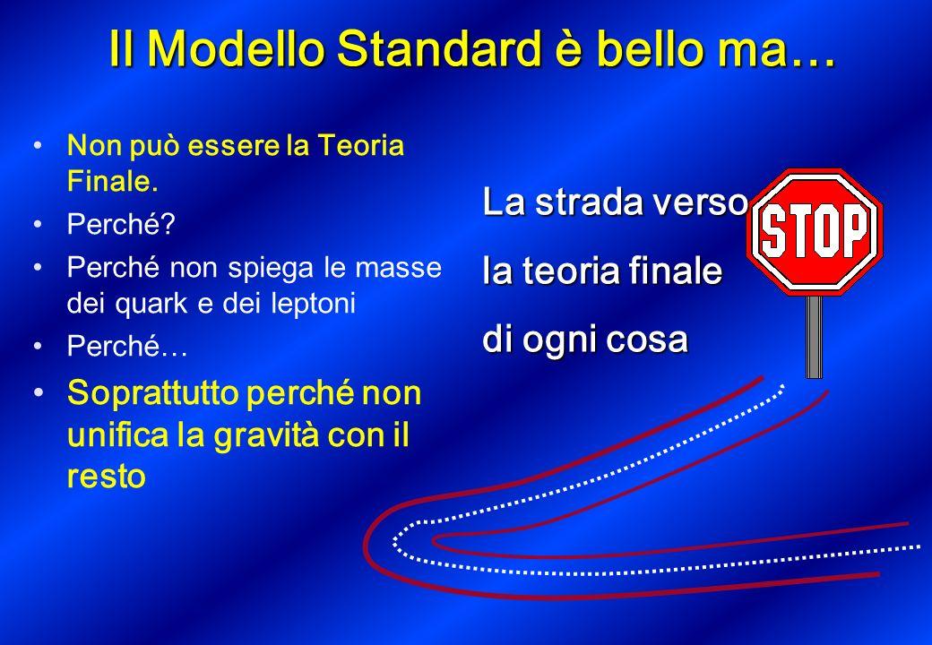 Il Modello Standard è bello ma…