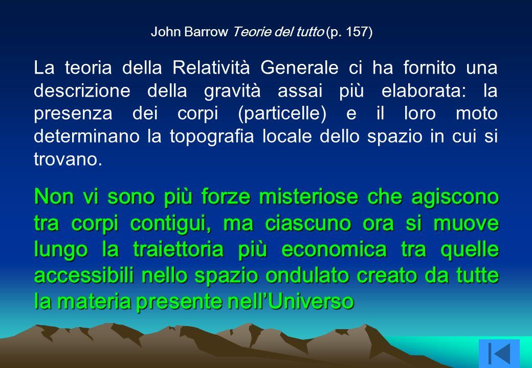 John Barrow Teorie del tutto (p. 157)
