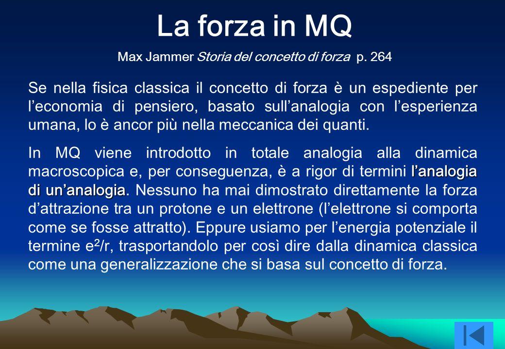 La forza in MQMax Jammer Storia del concetto di forza p. 264.