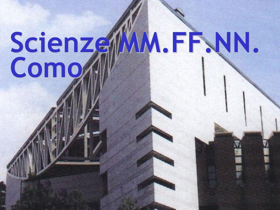 Scienze MM.FF.NN. Como