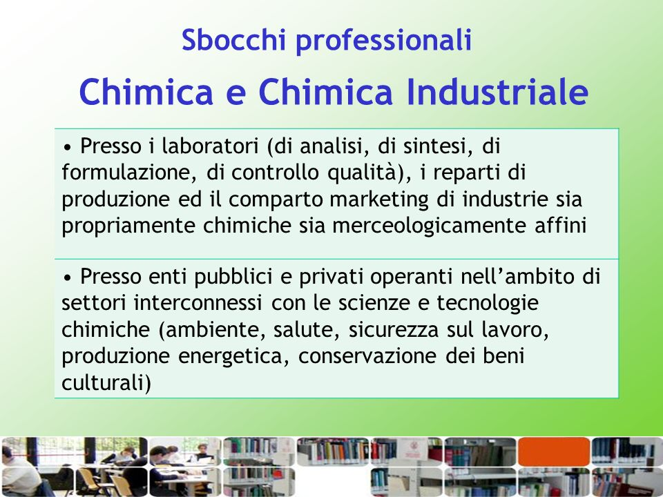 Chimica e Chimica Industriale