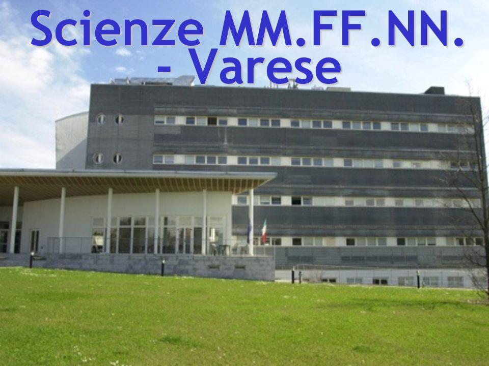 Scienze MM.FF.NN. - Varese
