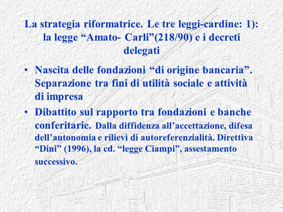 La strategia riformatrice