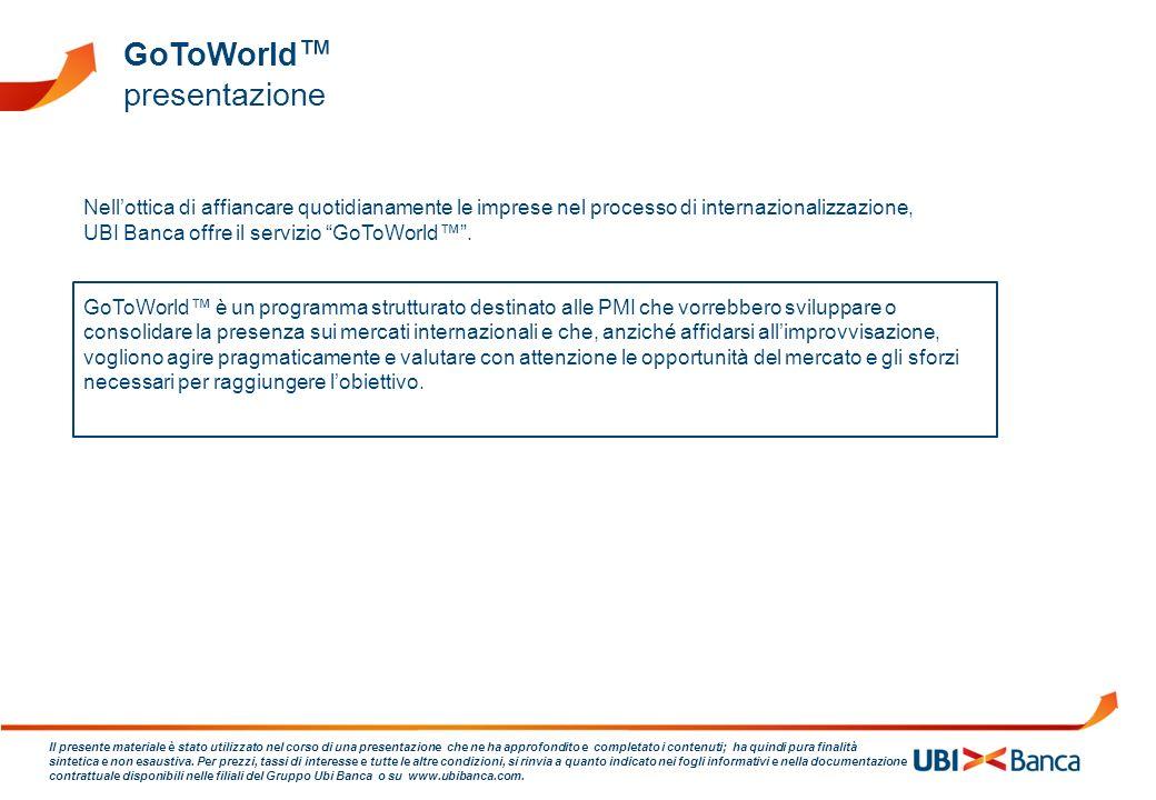 GoToWorld™ presentazione