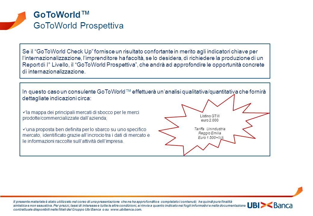 GoToWorld Prospettiva
