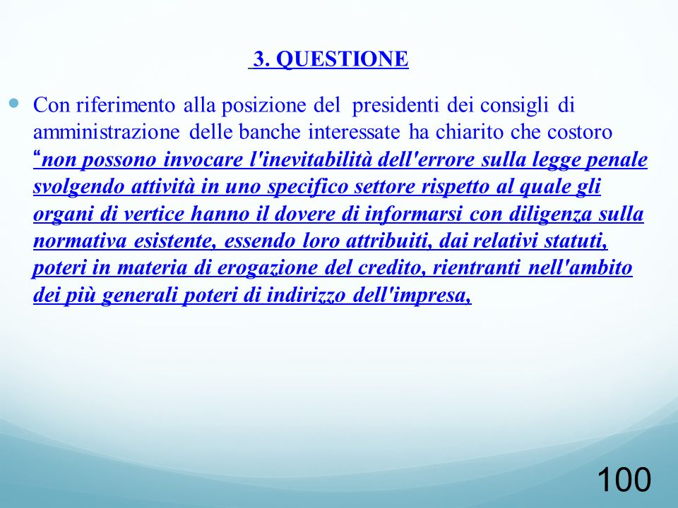 3. QUESTIONE