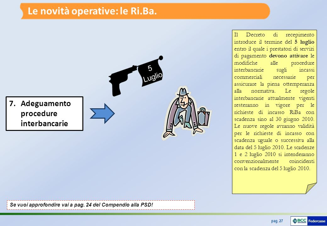 Le novità operative: le Ri.Ba.