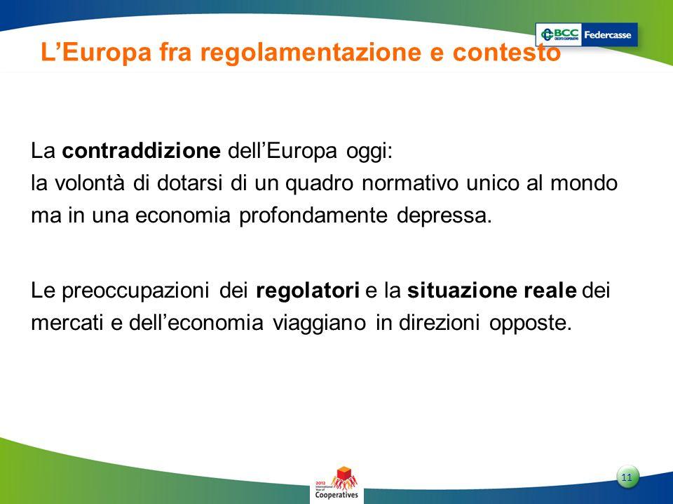 L'Europa fra regolamentazione e contesto
