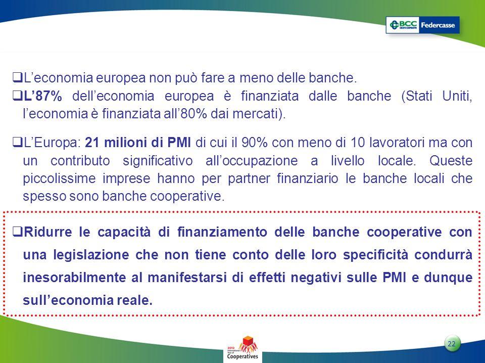 L'economia europea non può fare a meno delle banche.