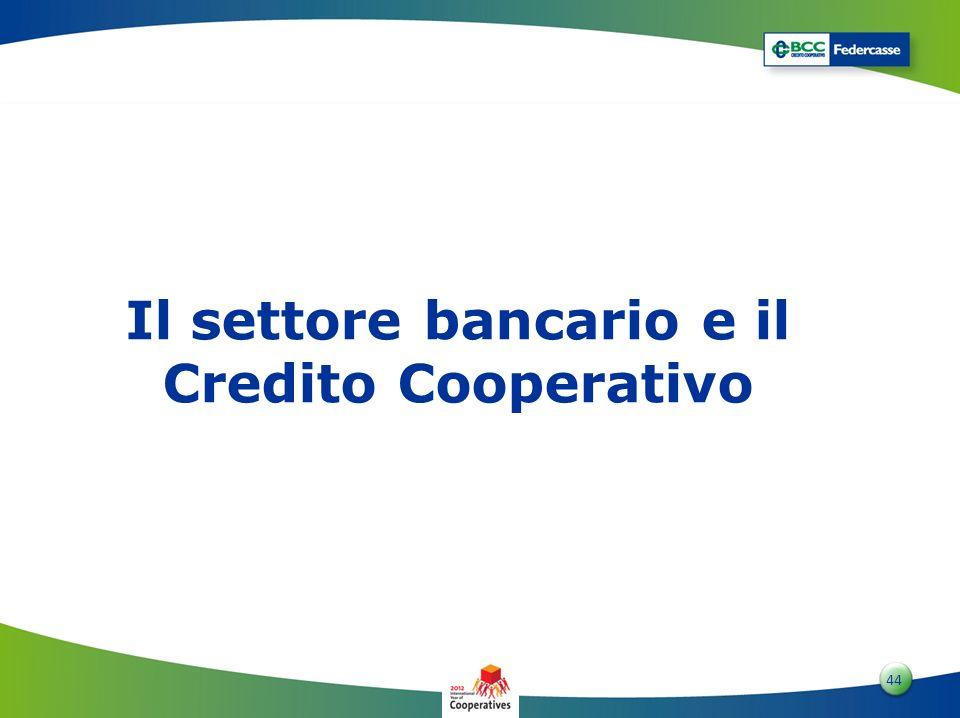 Il settore bancario e il Credito Cooperativo