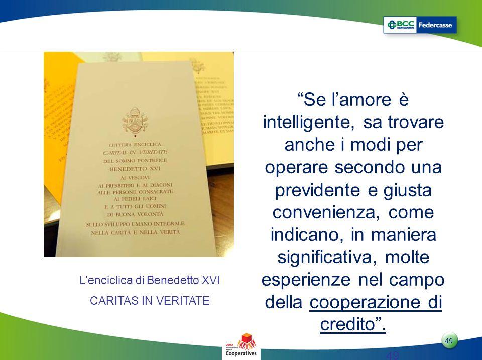 L'enciclica di Benedetto XVI