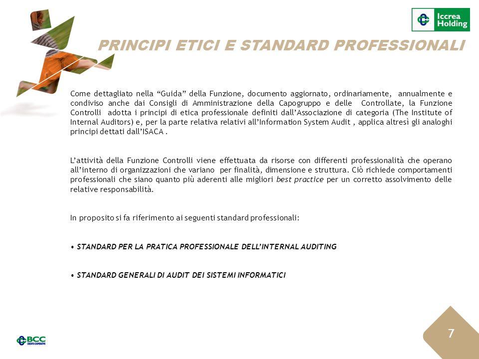 PRINCIPI ETICI E STANDARD PROFESSIONALI