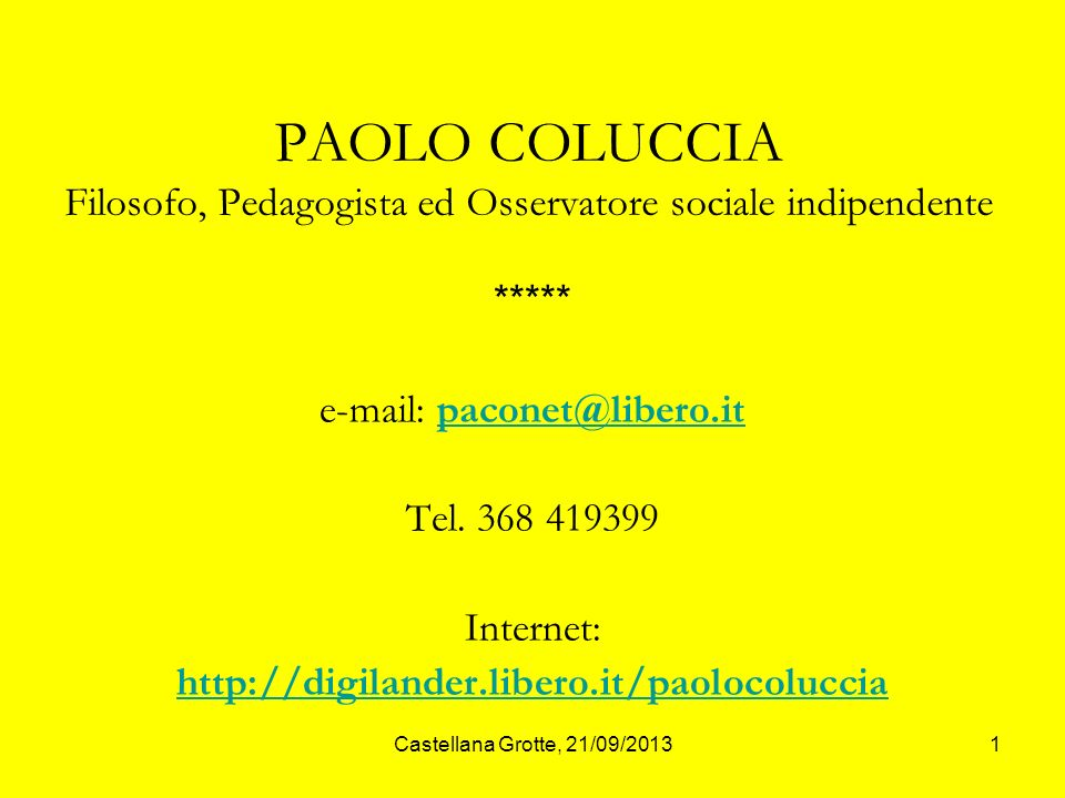 e-mail: paconet@libero.it