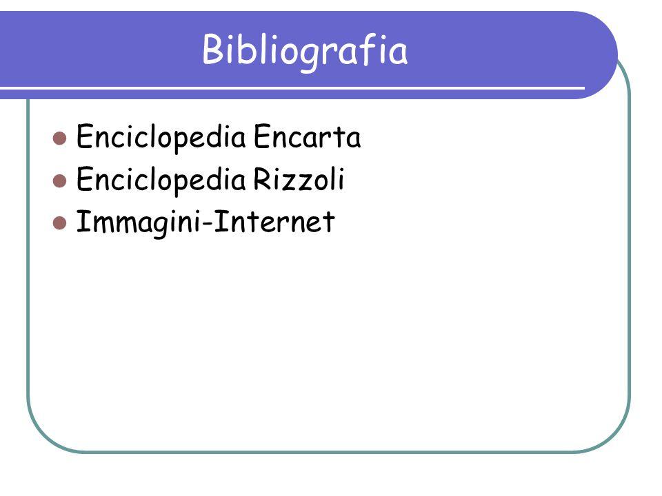 Bibliografia Enciclopedia Encarta Enciclopedia Rizzoli