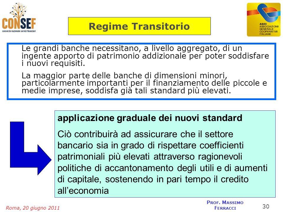 applicazione graduale dei nuovi standard