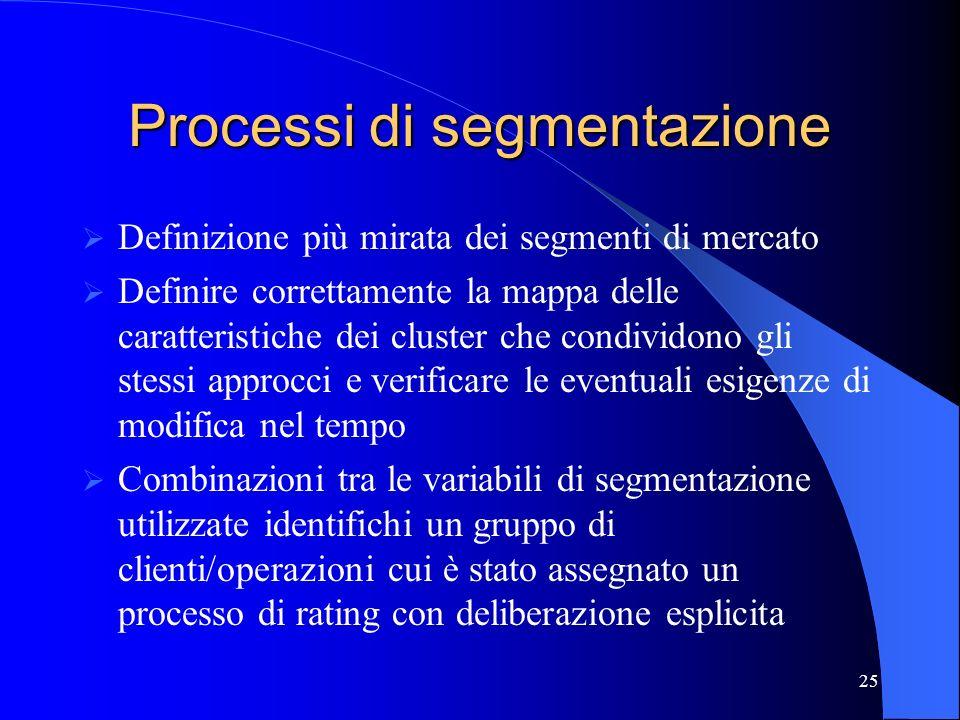 Processi di segmentazione