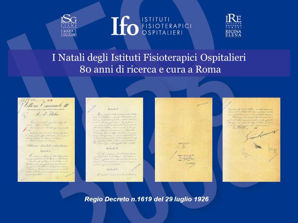 Regio Decreto n.1619 del 29 luglio 1926