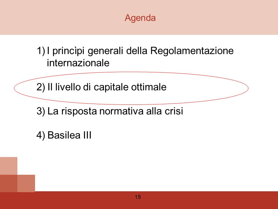 I princìpi generali della Regolamentazione internazionale
