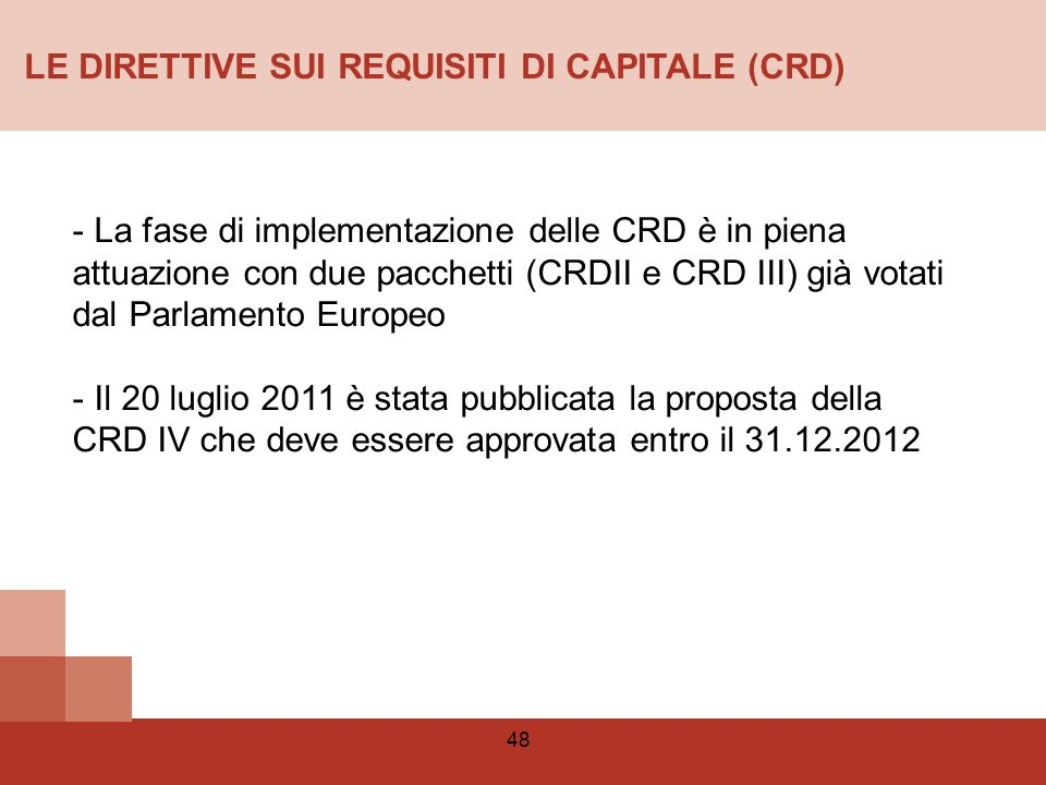 Capital Requirements Directive (CRD) definition - Risk.net