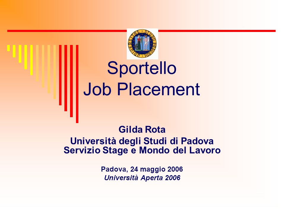 Sportello Job Placement